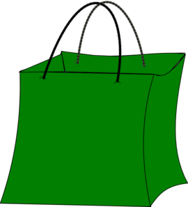 Gift Bag Clipart Green Gift Bag Md Png