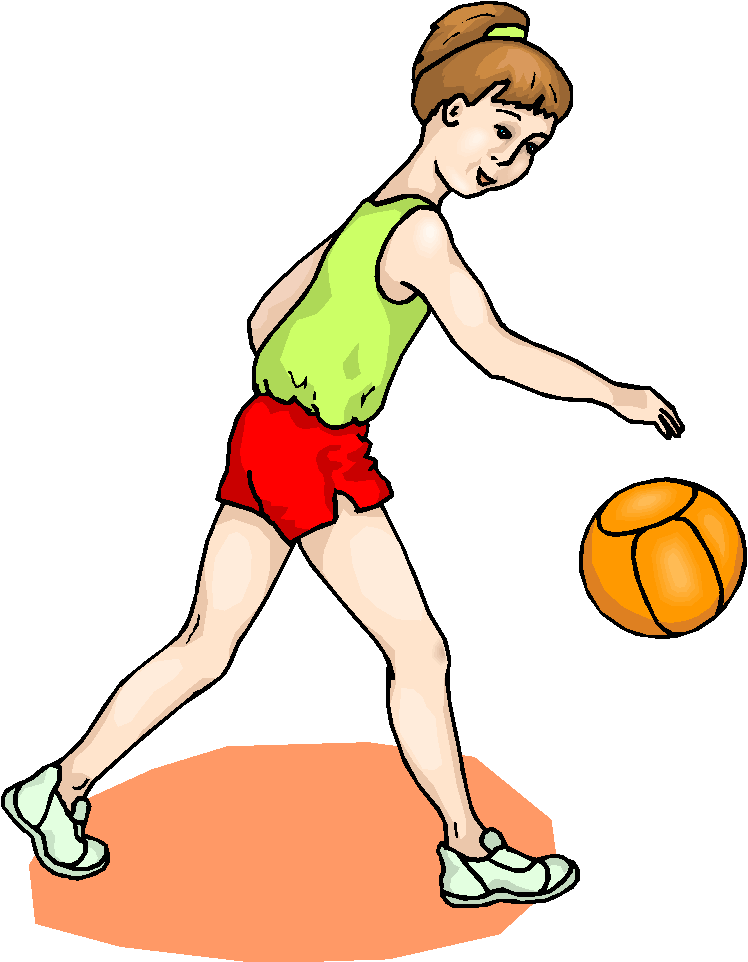 Girl Play Volleyball Free Clipart   Free Microsoft Clipart