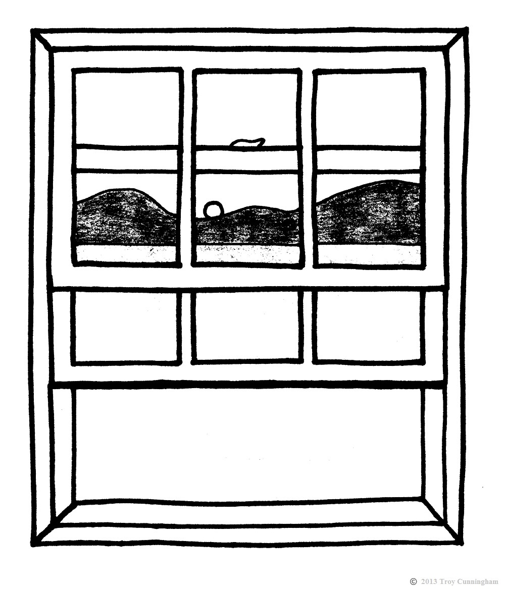 Go Back Images For Open Window Clipart Black And White