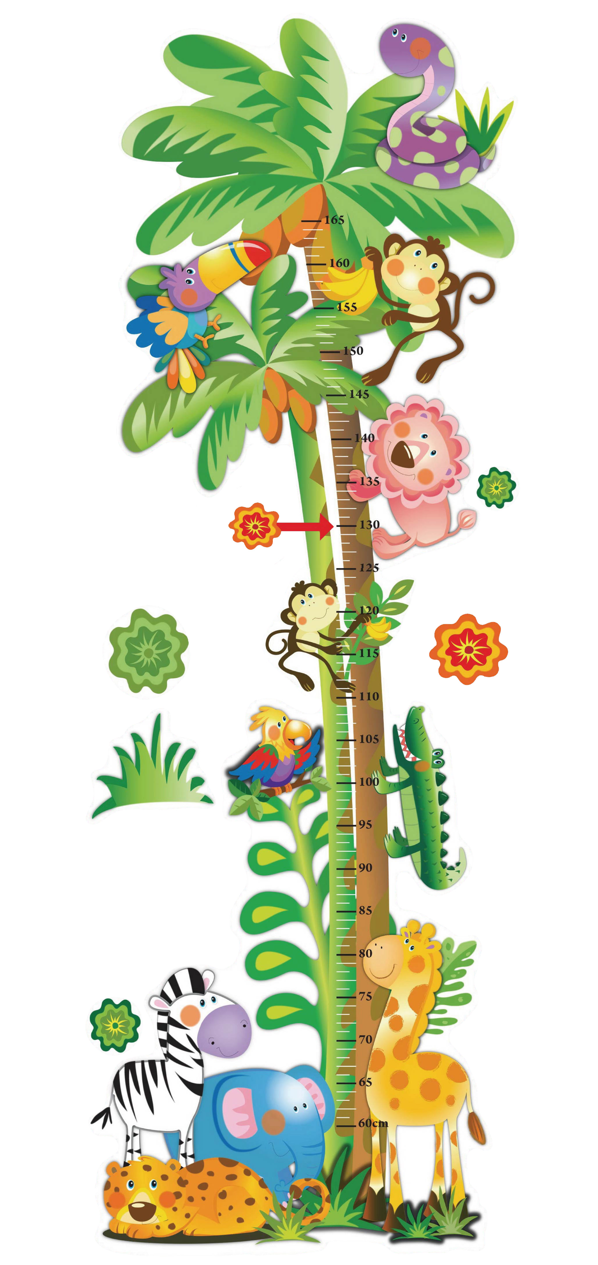 Jungle Theme   Height Measurer