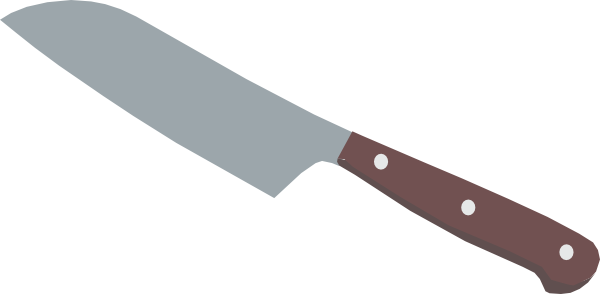 Kitchen Knife Clip Art ~ Knife clipart suggest