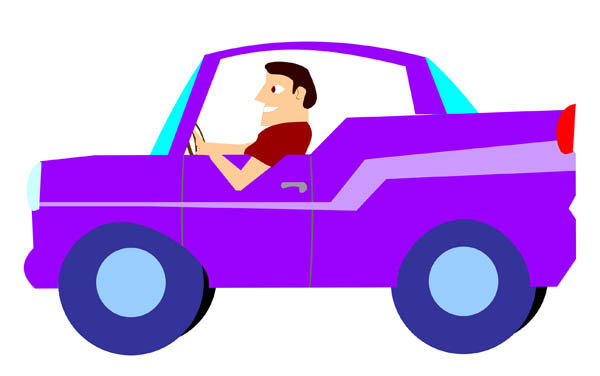 Clip Art Driving Clipart driving school clipart kid man a purple car free clip art best best