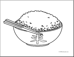 Of 1 Coloring Page Rice Coloring Page Asia Coloring Food Member Site