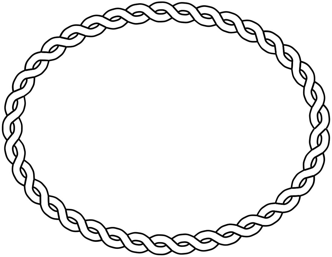 clip art oval frames free - photo #49