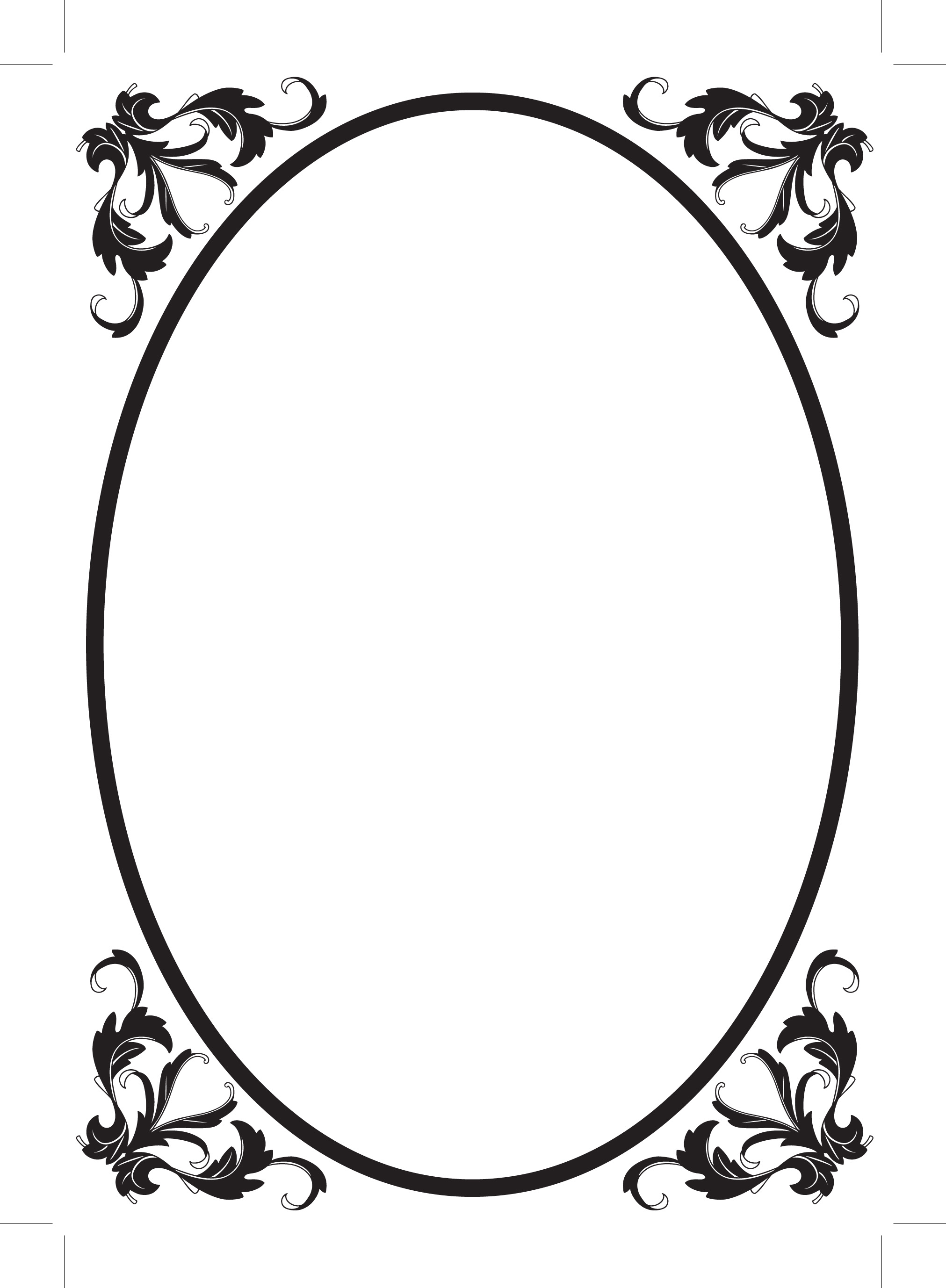 Oval Frame Clipart   Clipart Panda   Free Clipart Images
