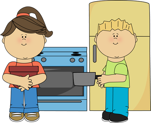 Play Kitchen Clipart Kitchen Center Clip Art Image