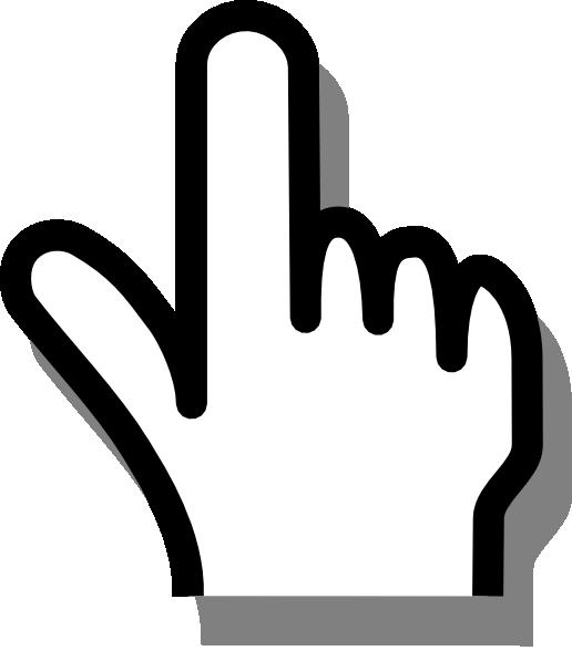 Clip Art Pointing Finger Clip Art cartoon pointing finger clipart kid clip art at clker com vector online