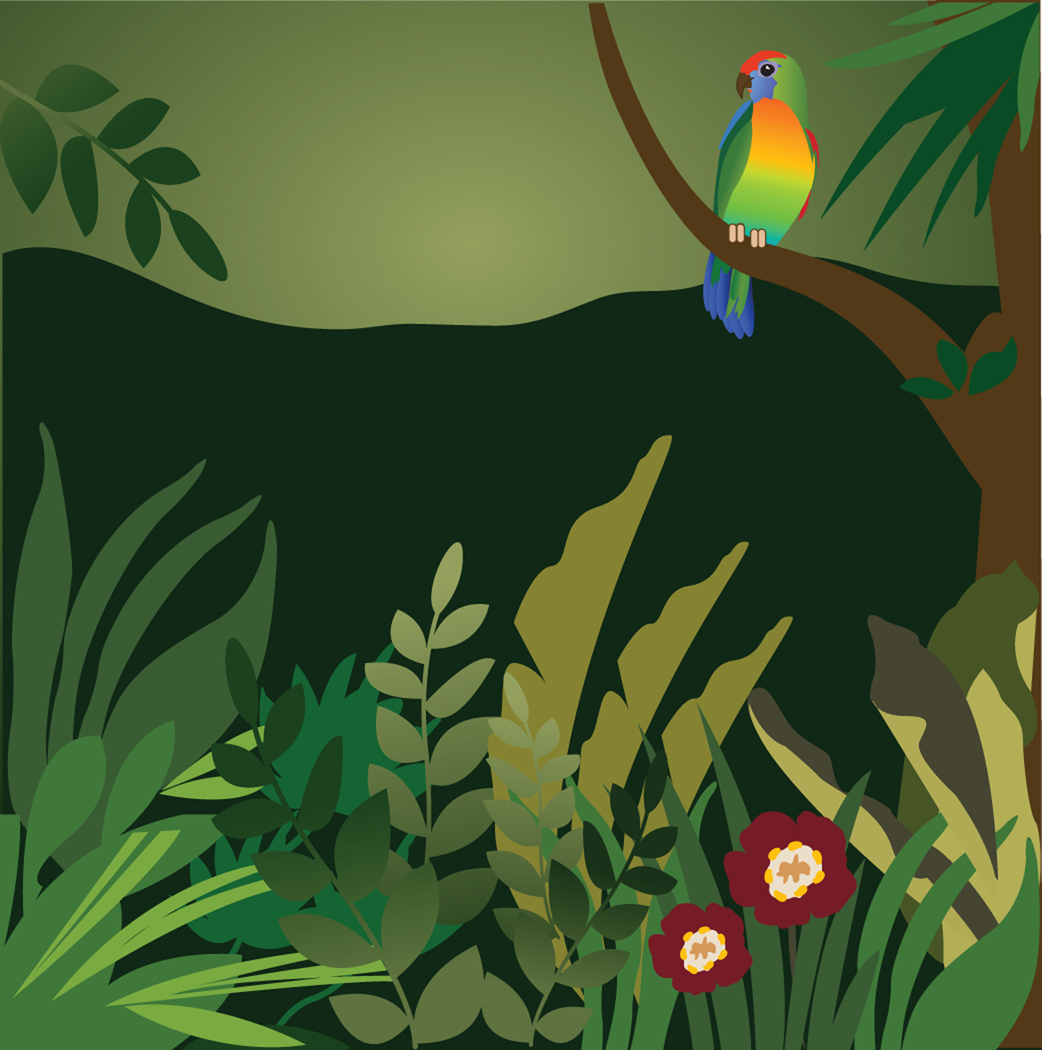 Rain Forest Clip Art Kentbaby