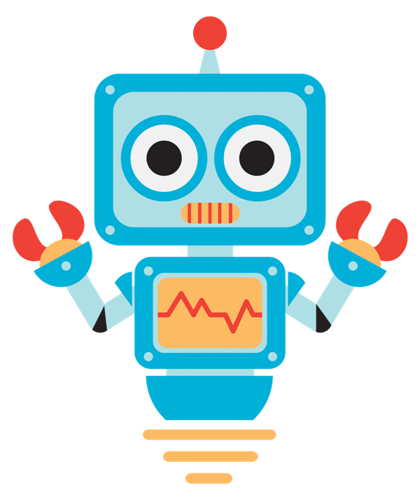 Cute robot clipart suggest