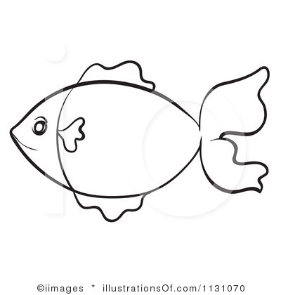 Fish Black And White Clipart - Clipart Kid