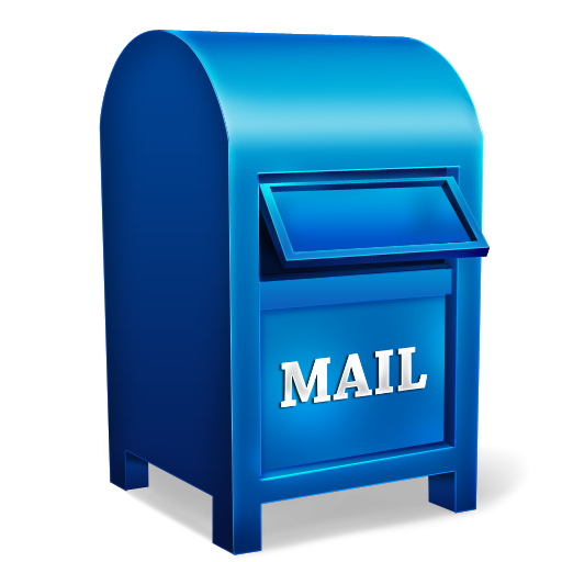 This Free Blue Mailbox Clip Art Is Brought To You Courtesy Of Our