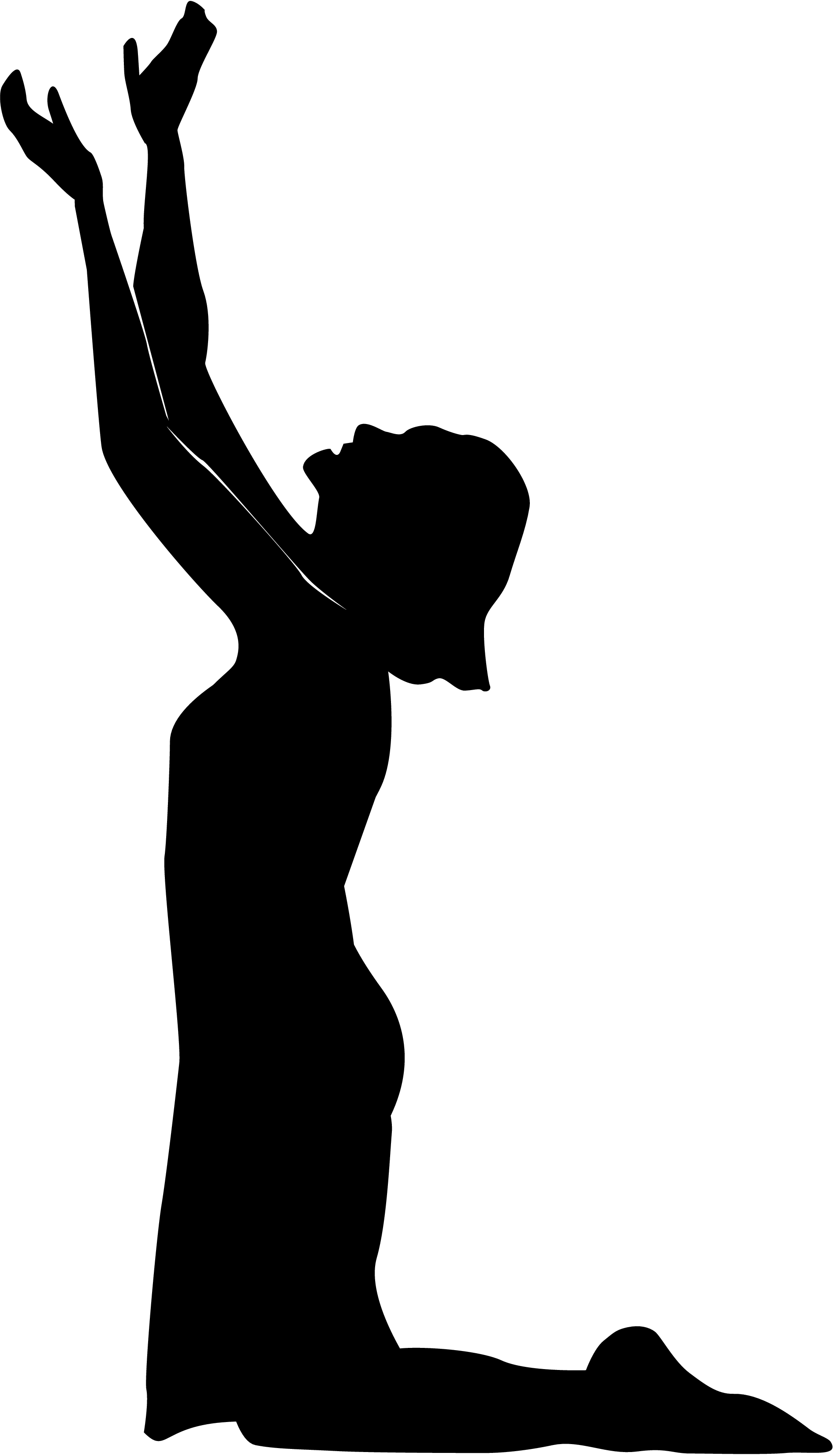 14 Praying Hands Silhouette Free Cliparts That You Can Download To You