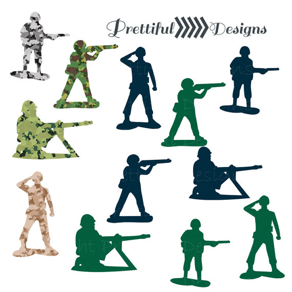 Army Men Clip Art   Camouflage Army Green Navy Png Eps Svg Vector