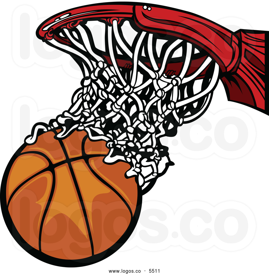 Basketball Going Through Net Clipart   Clipart Panda   Free Clipart
