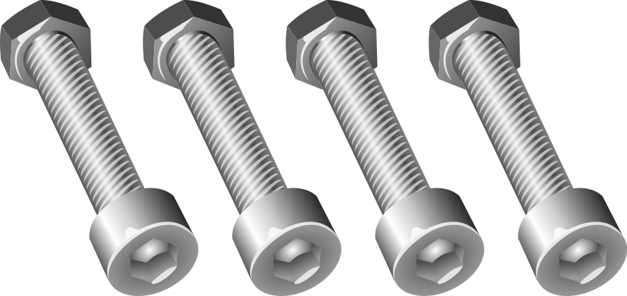 Large Nuts And Bolts : Nuts and bolts clipart suggest