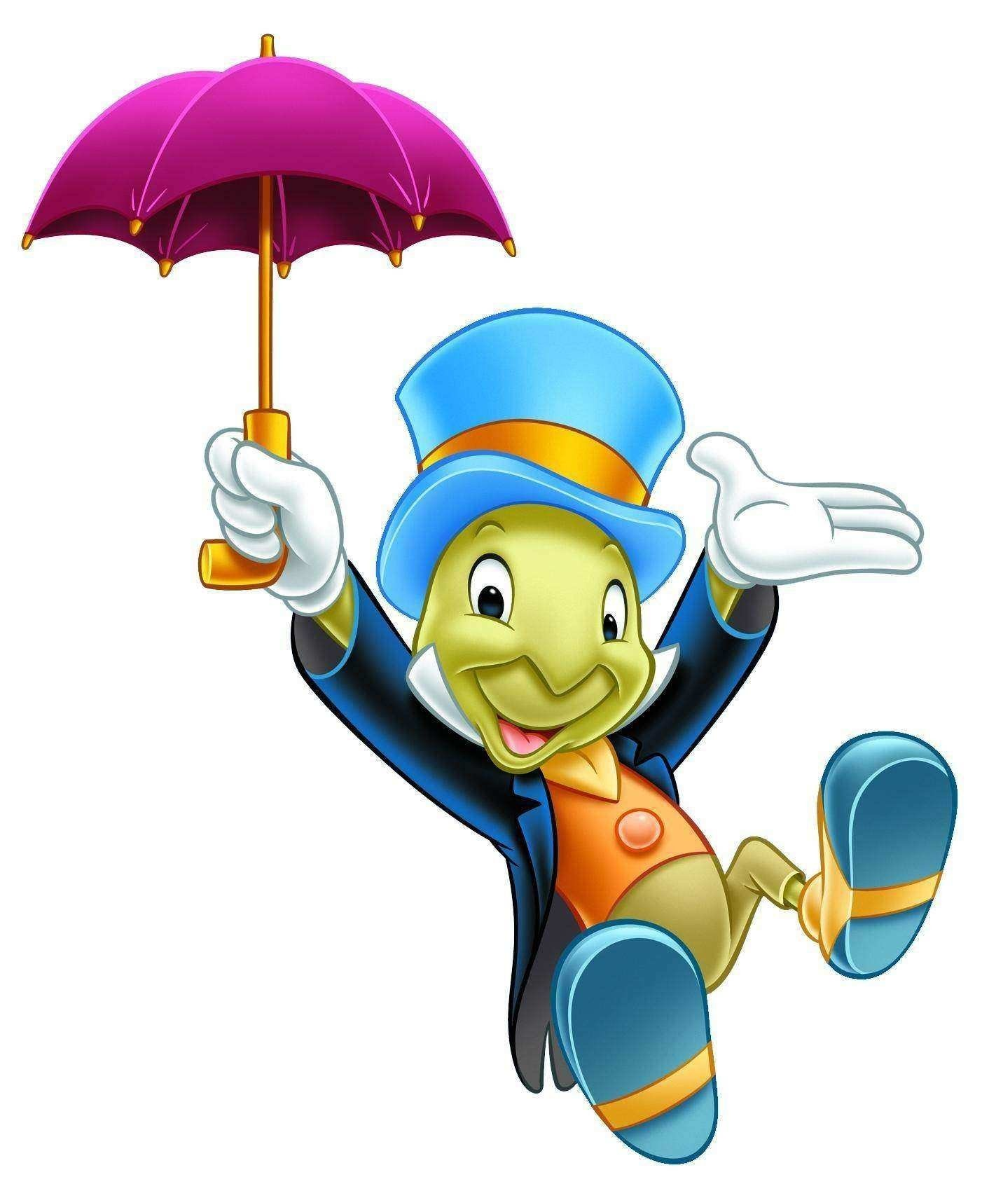 Disney Cartoon Jiminy Picture