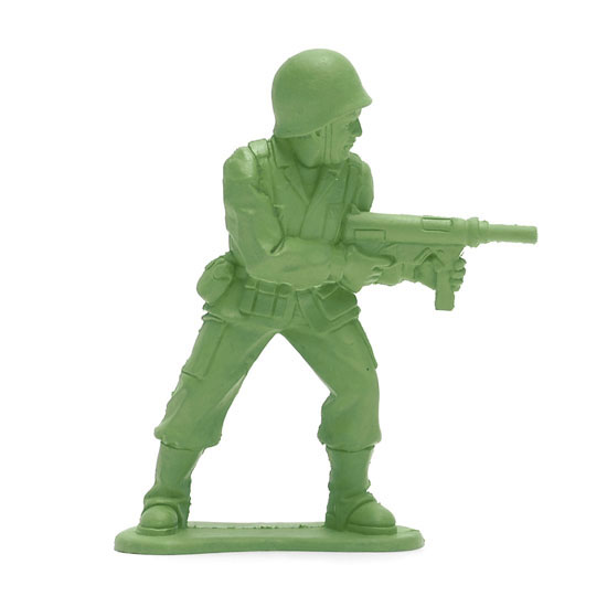 Doca Pet Dogface   Army Man Chew Toy   The Green Head