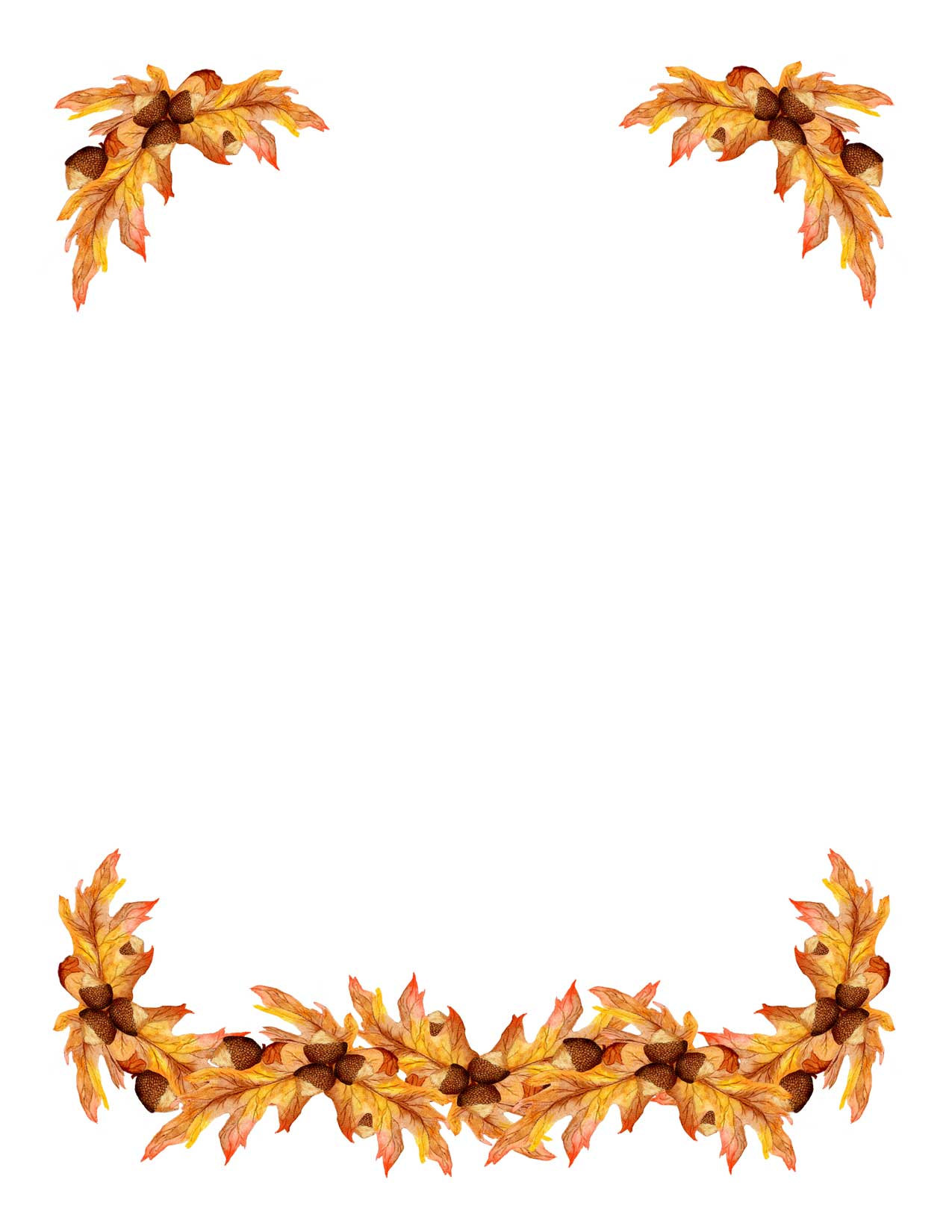 Clip Art Fall Border Clip Art fall leaves border clipart kid each of the above clip art borders is sure to make your designs and