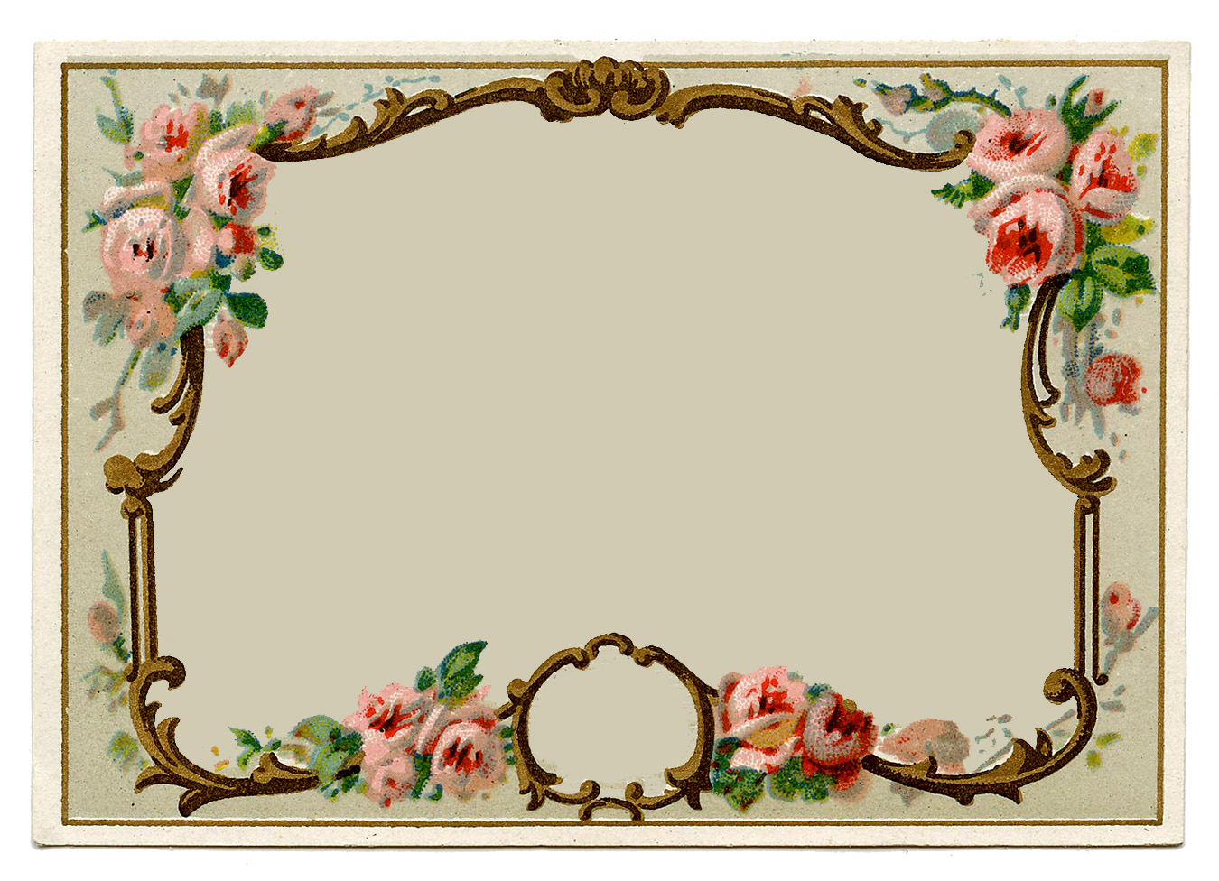 Free Download Vintage Frame Border Clipart Call Victorian Hd Wallpaper