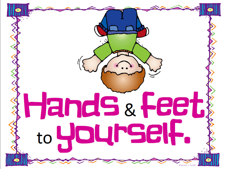 Hands And Feet To Self Clipart It Is So Interesting To See