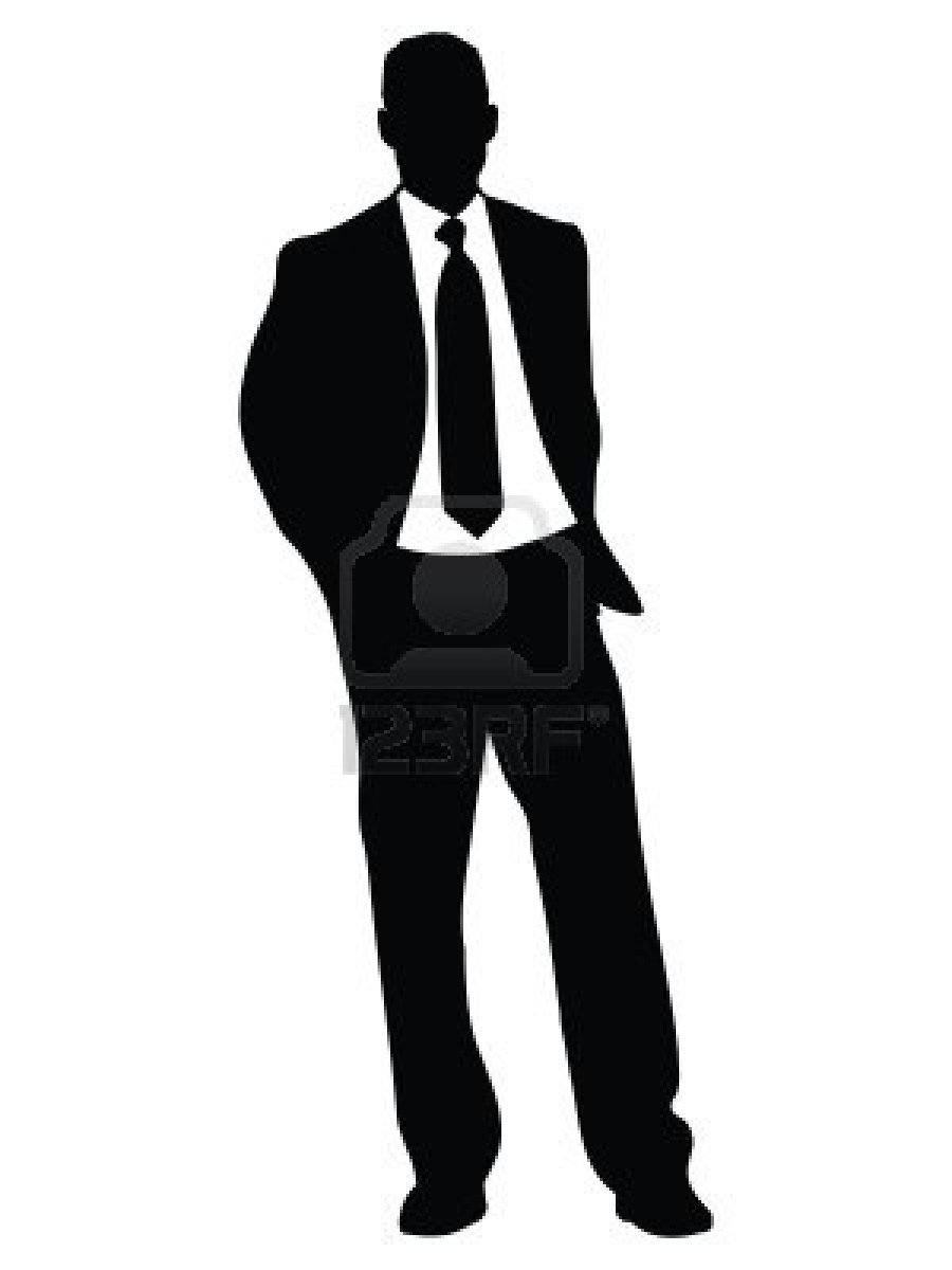 Man Standing Silhouette Silhouette Business Man Standing Jpg