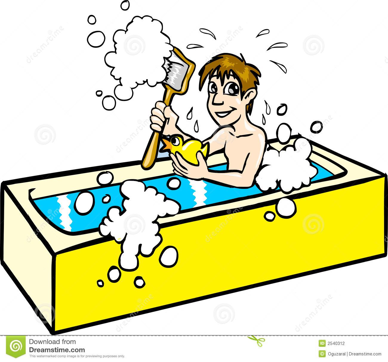 taking a bath clipart - photo #20