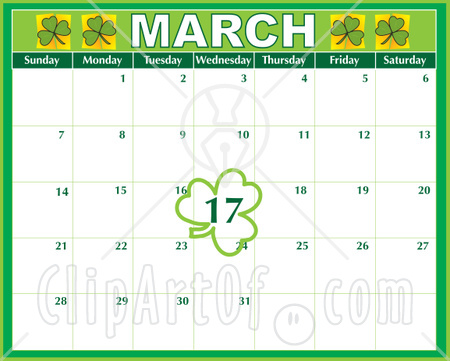 March Calendar Clip Art #8Nus1Q - Clipart Kid
