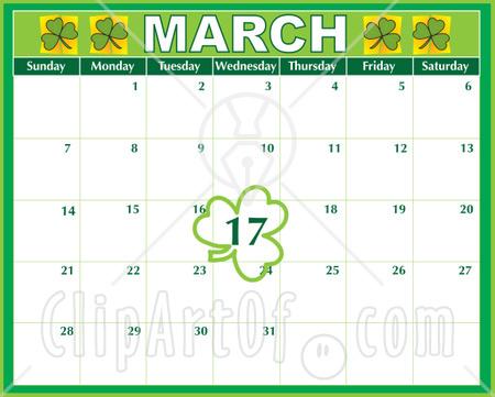March Calendar Clip Art #8Nus1Q - Clipart Kid