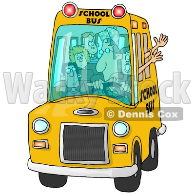 Mom Driving To School Clipart 4  I Pledge To Wait For My
