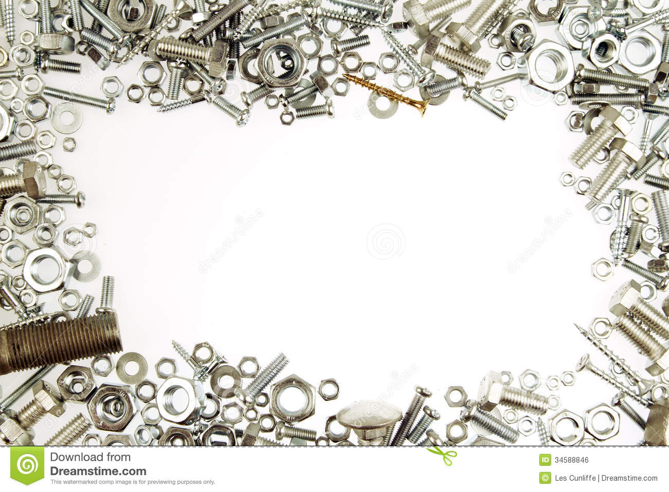 Nuts And Bolts Royalty Free Stock Image   Image  34588846