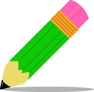 Pencil Clipart - Clipart Kid