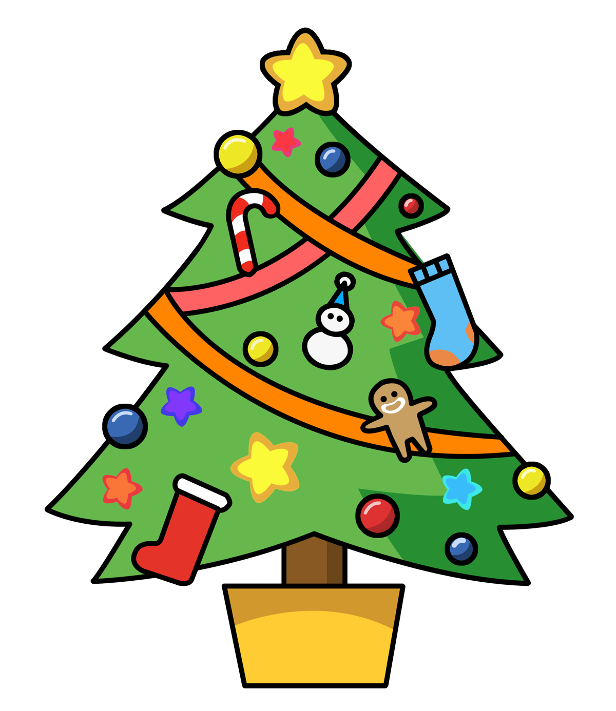Christmas Graphics Clipart - Clipart Kid