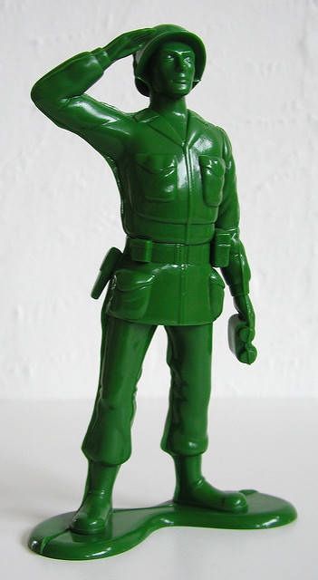 Vinyl Collectible Dolls  Green Army Man   Flickr   Photo Sharing