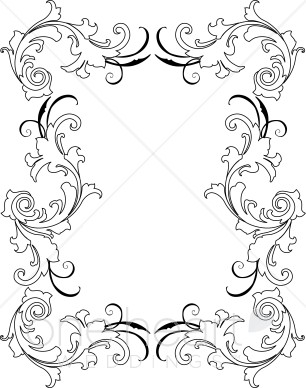 You May Also Like Gray Retro Border Clipart Teal Retro Border Clipart