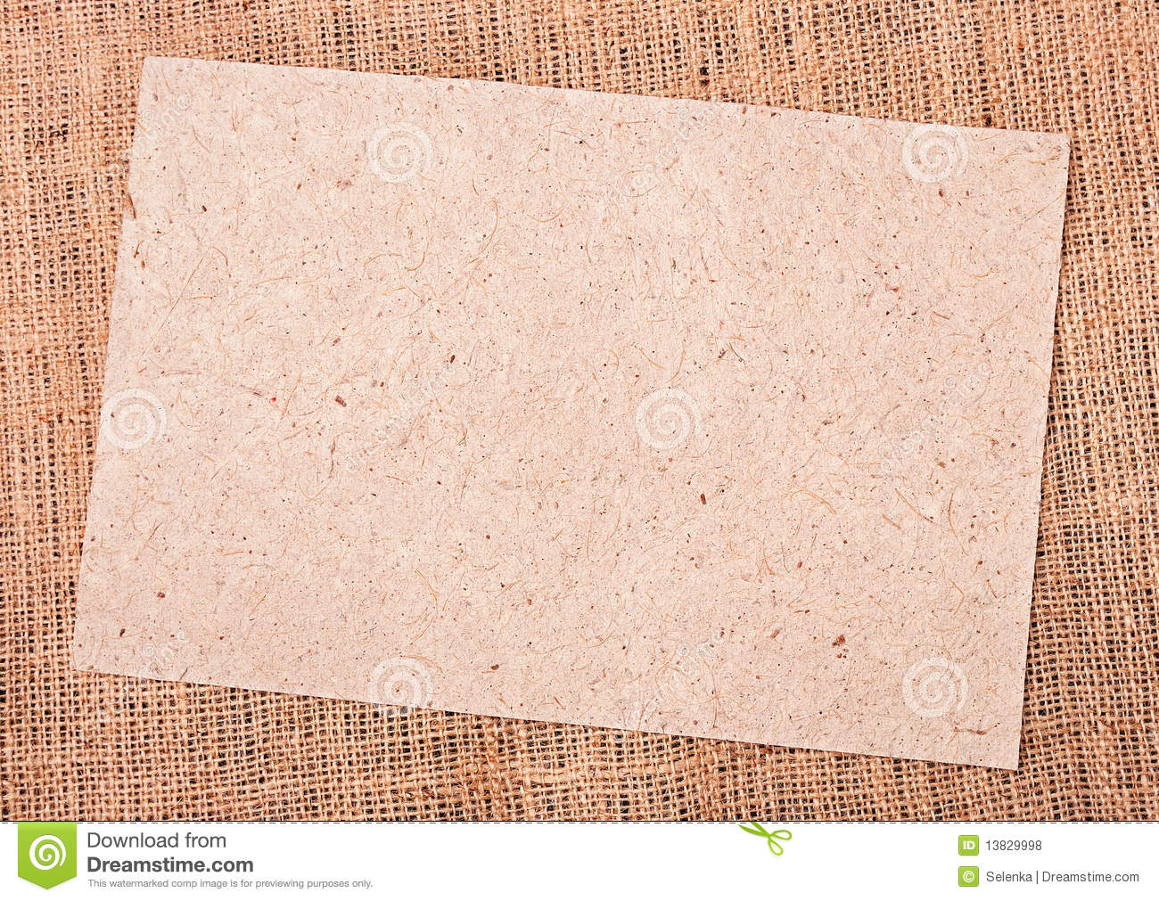 Burlap And Paper Background Royalty Free Stock Photos   Image