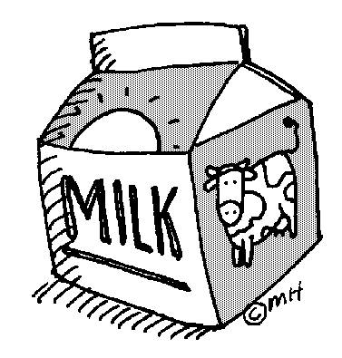 Chocolate Milk Clipart Open Milk Carton Clip Art 246 Jpg