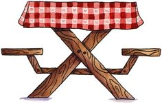 picnic table clipart clipart suggest. Black Bedroom Furniture Sets. Home Design Ideas