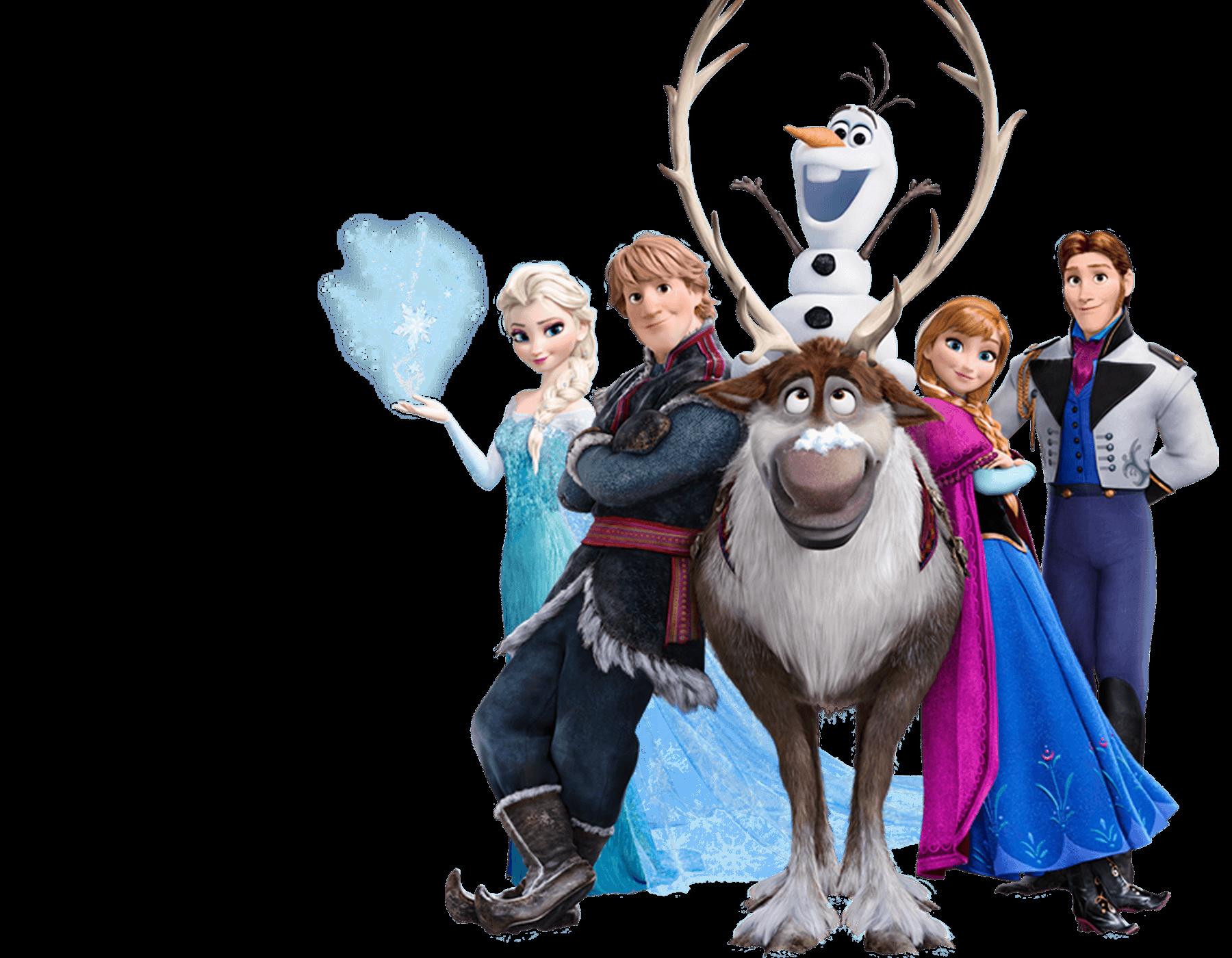 Disney's Frozen Characters Clipart - Clipart Kid