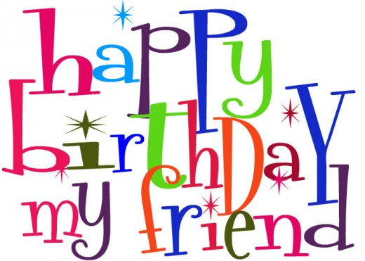 Cute Birthday Clipart For Facebook   Happy Birthday My Friend
