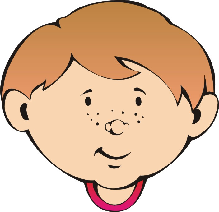 Cartoon Boy Face Clipart - Clipart Kid