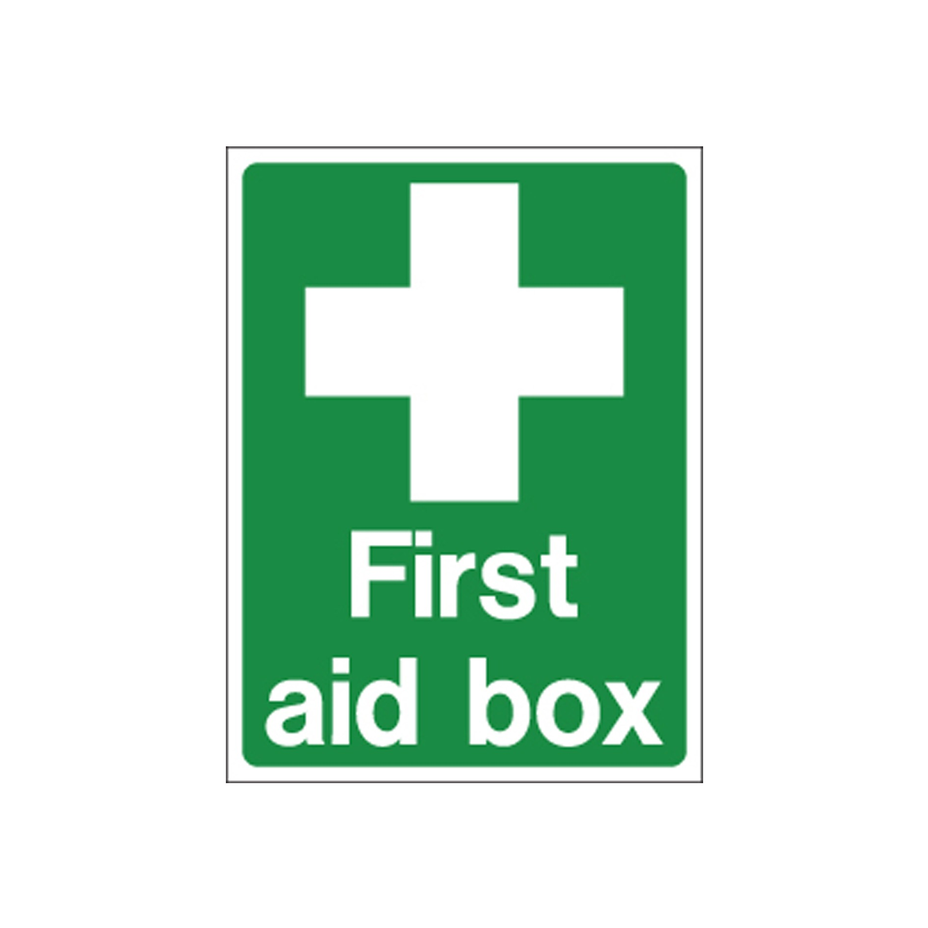 First Aid Station Signs Printable First Aid Box Sign