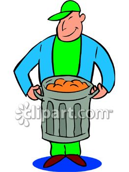 Garbage Man Clipart - Clipart Suggest  Garbage Man Cli...