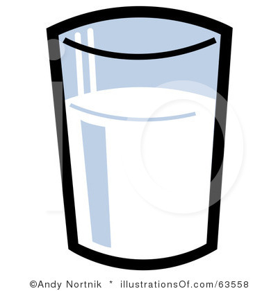Glass Of Milk Clipart Black And White Glass Of Chocolate Milk Clipart