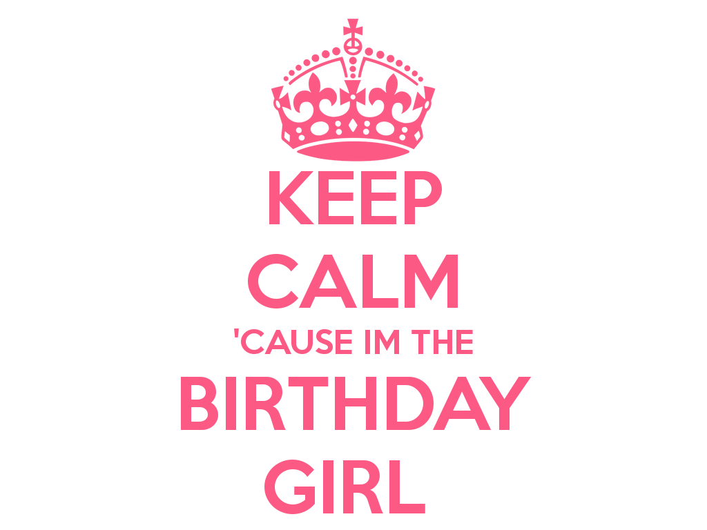 Keep Calm Its My Birthday Clipart