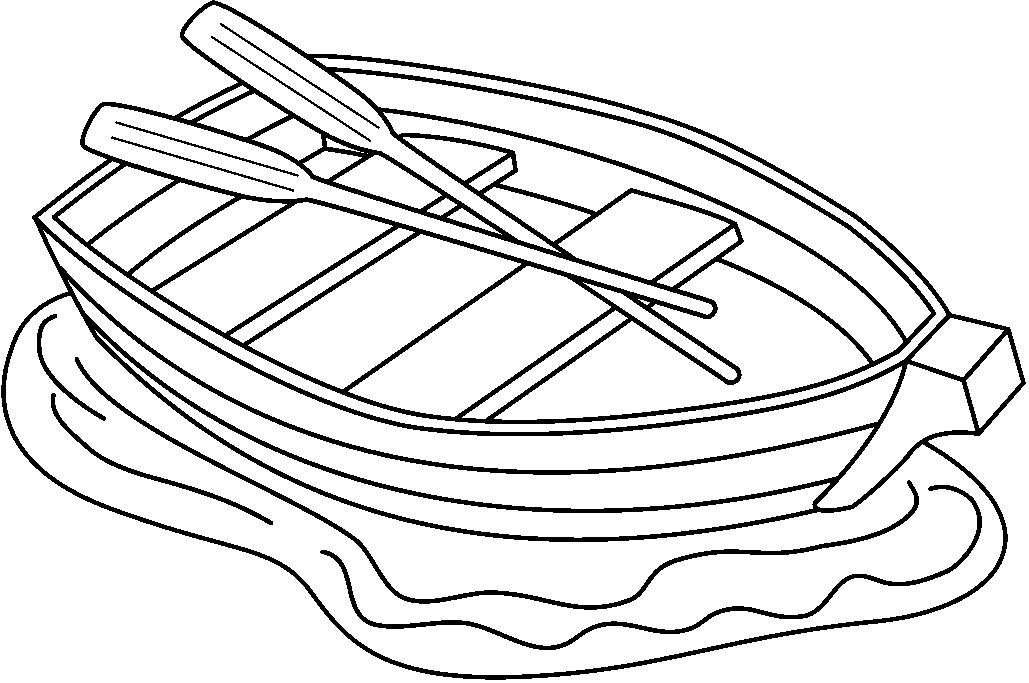 Line Art Boat : Row boat cartoon clipart suggest