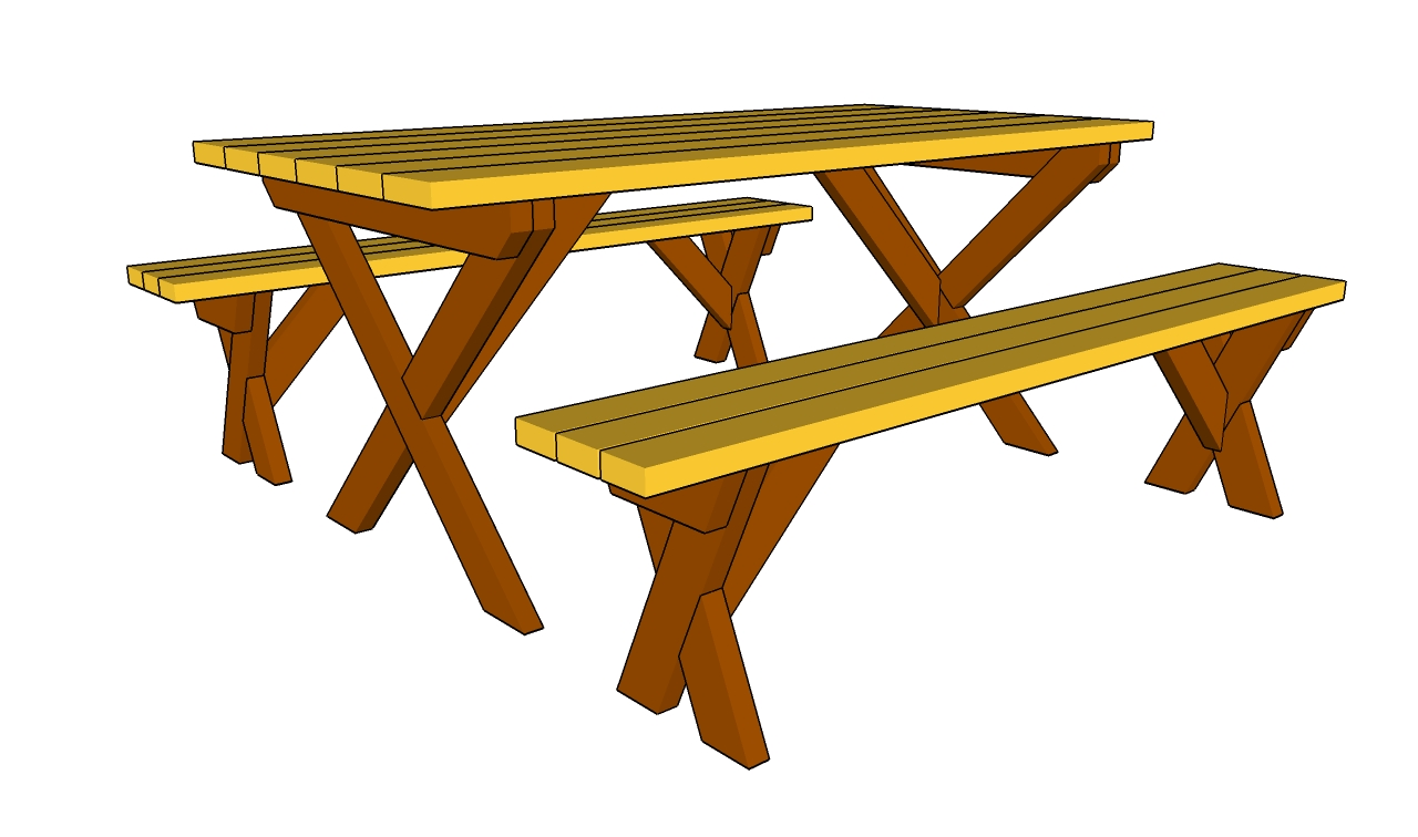 Picnic Table Clip Art   Cliparts Co