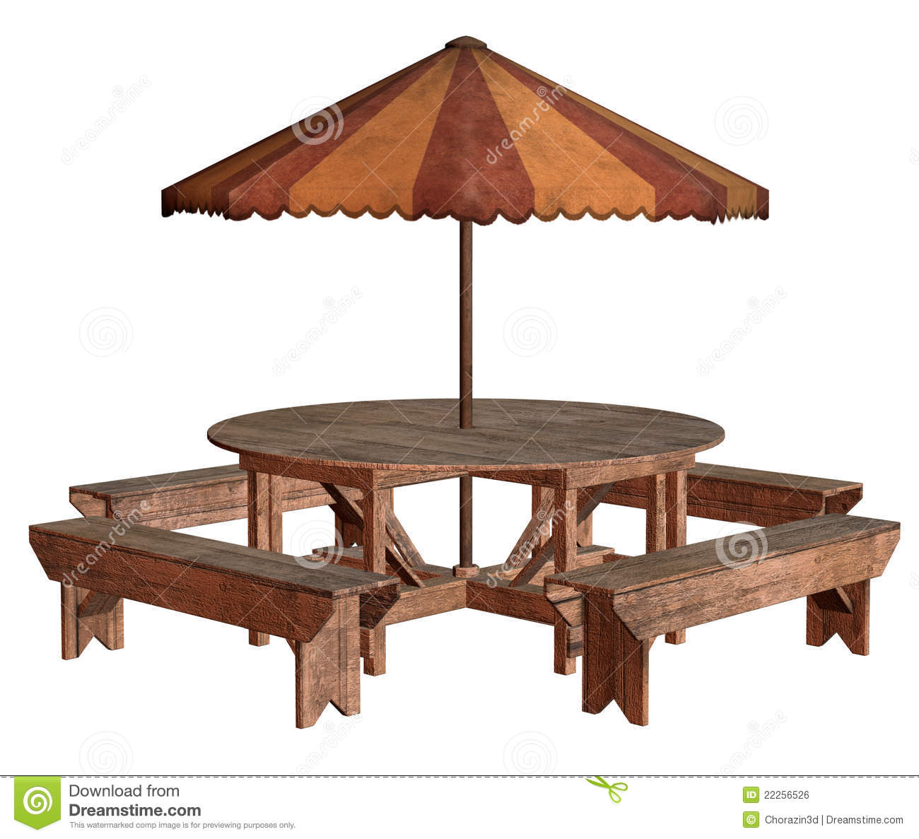 Picnic Table Royalty Free Stock Image   Image  22256526