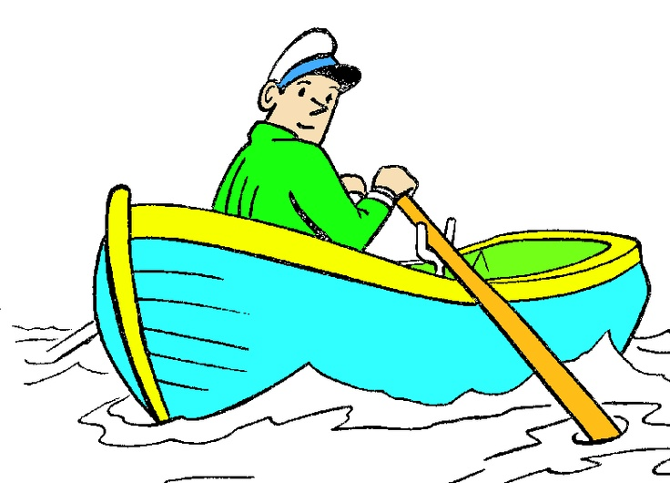 Row Boat Cartoon Clipart - Clipart Kid