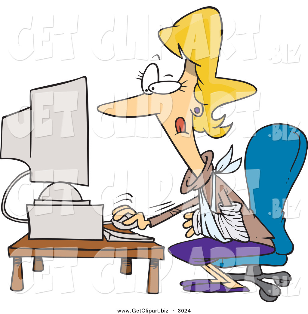 Showing post & media for Cartoon busy secretary clip art | www ...