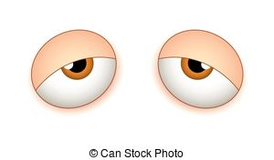 Tired Red Eyes Clipart - Clipart Suggest